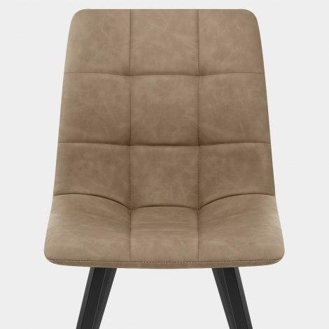 Daytona Dining Chair Antique Brown Seat Image