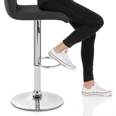 Debut Bar Stool Black Seat Image