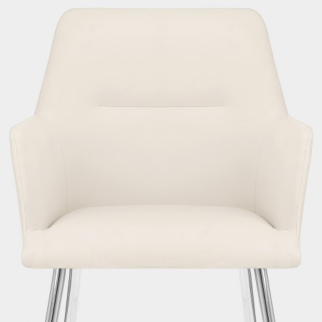 Donovan Dining Chair Cream Seat Image