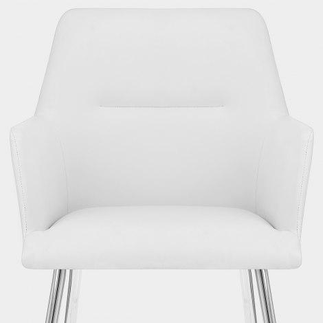Donovan Dining Chair White Seat Image