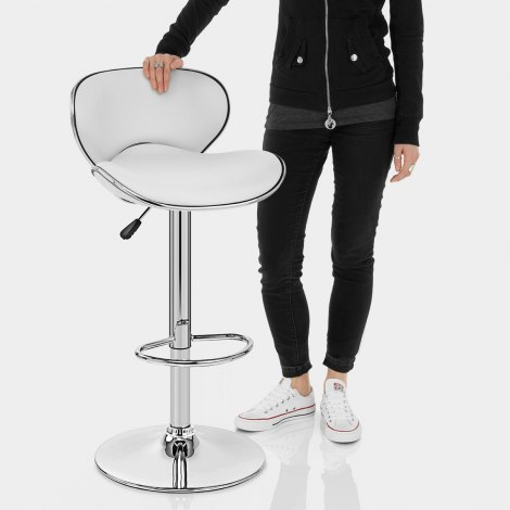 Duo Bar Stool White Features Image