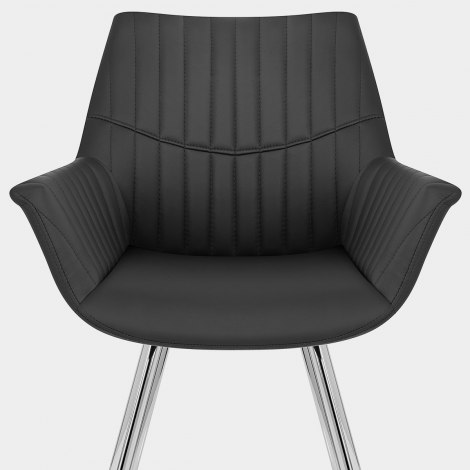 Finley Dining Chair Black Seat Image