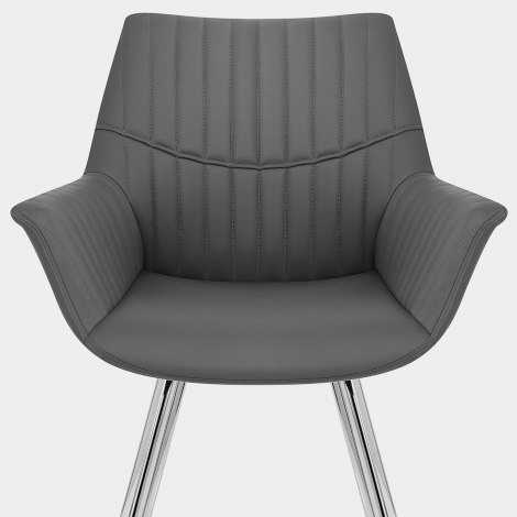 Finley Dining Chair Grey Seat Image