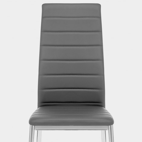 Francesca Dining Chair Grey Seat Image