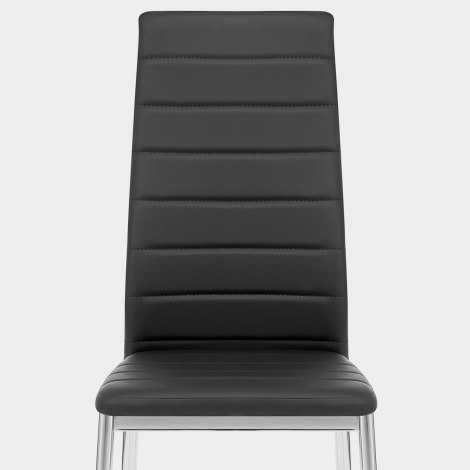 Francesca Dining Chair Black Seat Image