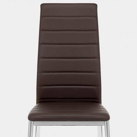 Francesca Dining Chair Brown Seat Image