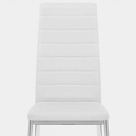 Francesca Dining Chair White Seat Image