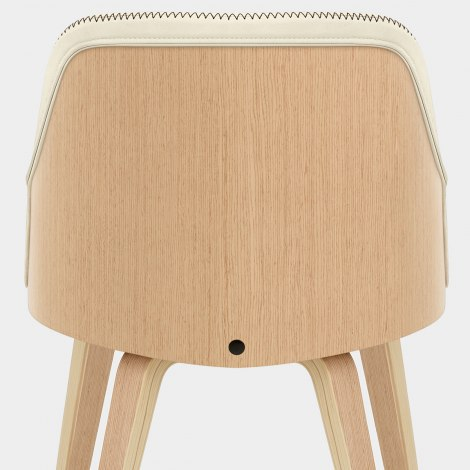 Fusion Oak Chair Cream Seat Image