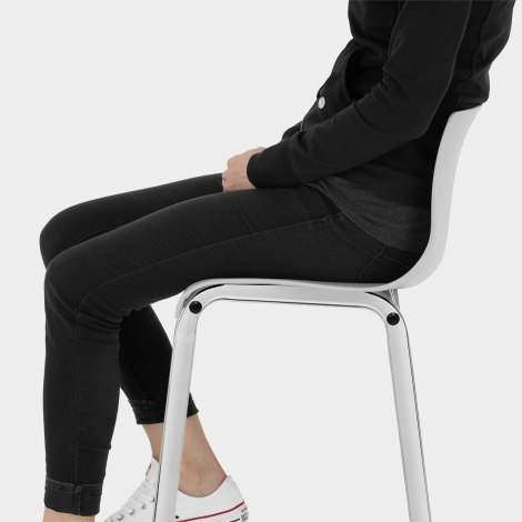 Gabriel Bar Stool Grey Seat Image