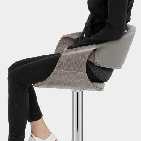 Georgia Stool Grey Seat Image