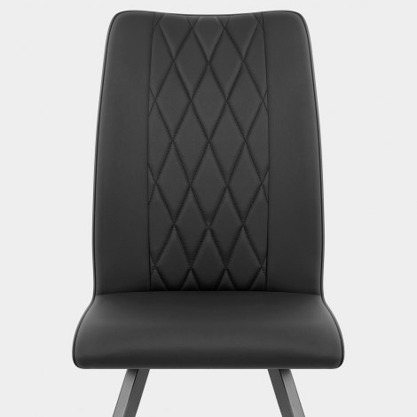 Gio Dining Chair Black Seat Image