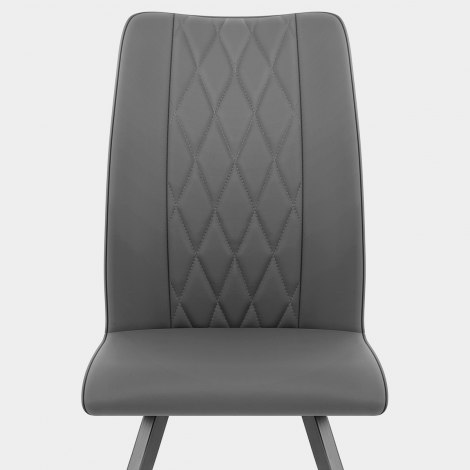 Gio Dining Chair Charcoal Seat Image
