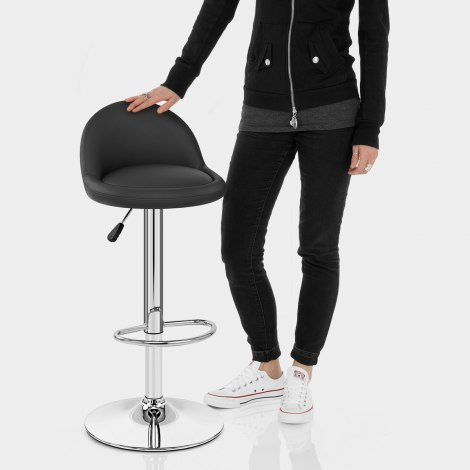 Glee Bar Stool Black Features Image