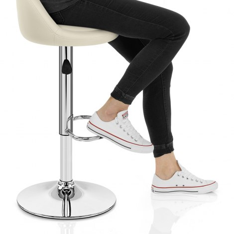 Glee Bar Stool Cream Seat Image