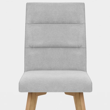 Hadley Dining Chair Grey Velvet Seat Image