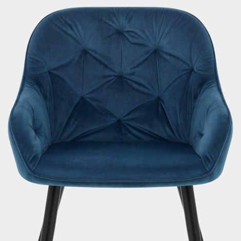 Henderson Chair Blue Velvet Seat Image