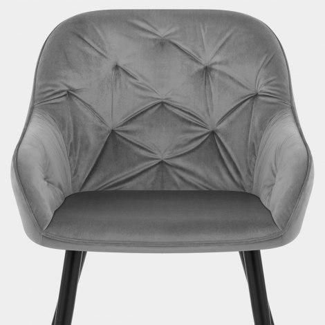 Henderson Chair Grey Velvet Seat Image