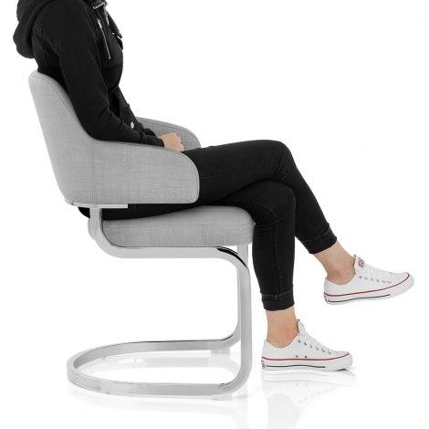 Horizon Chair Grey Fabric Frame Image