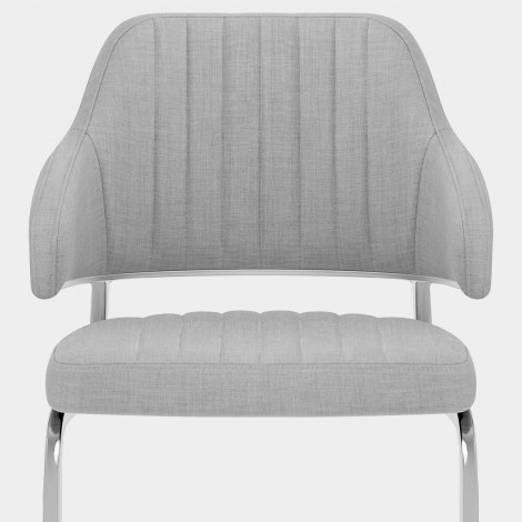 Horizon Chair Grey Fabric Seat Image