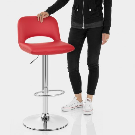 Hugo Bar Stool Red Features Image