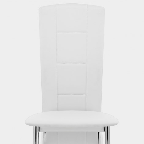 Isabella Dining Chair White Seat Image