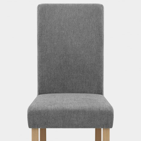 Jackson Dining Chair Grey Fabric Seat Image