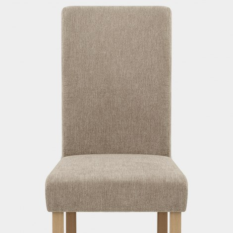 Jackson Dining Chair Mink Fabric Seat Image