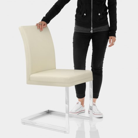 Jade Dining Chair Cream Features Image