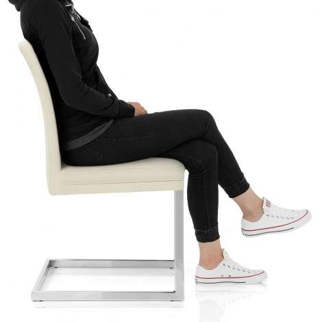 Jade Dining Chair Cream Seat Image