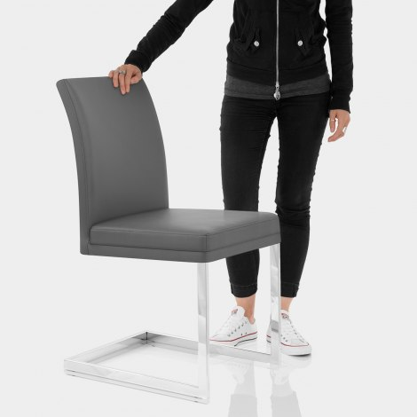 Jade Dining Chair Grey Features Image