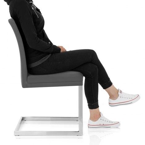 Jade Dining Chair Grey Frame Image