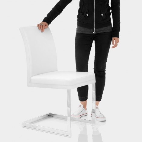 Jade Dining Chair White Features Image