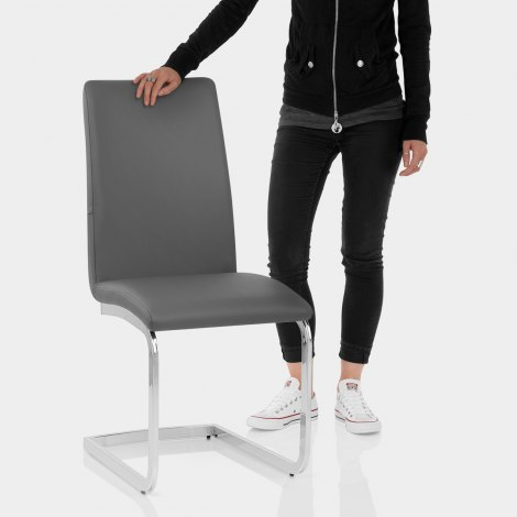 Jordan Dining Chair Charcoal Features Image