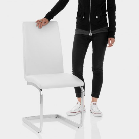 Jordan Dining Chair White Features Image