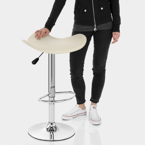 Jupiter Cream Bar Stool Features Image