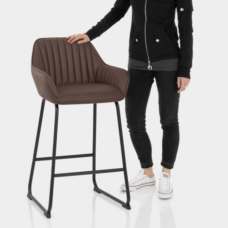 Kanto Bar Stool Brown Features Image