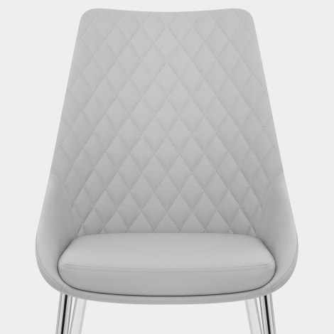 Liberty Dining Chair Light Grey Seat Image