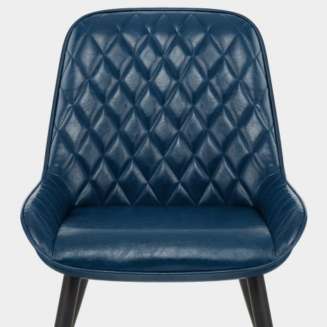 Lincoln Chair Antique Blue Seat Image