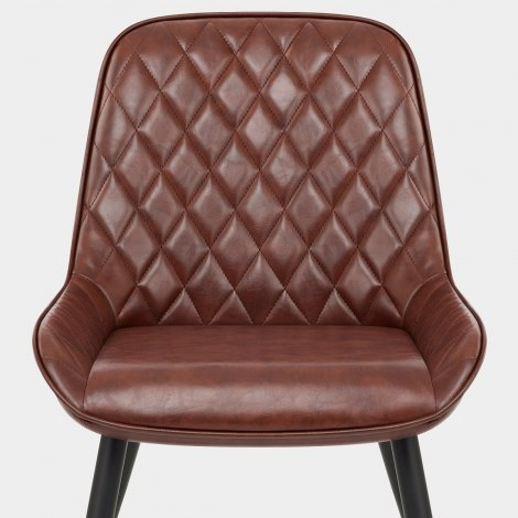 Lincoln Chair Antique Brown Seat Image