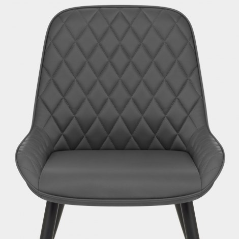 Lincoln Dining Chair Grey Seat Image