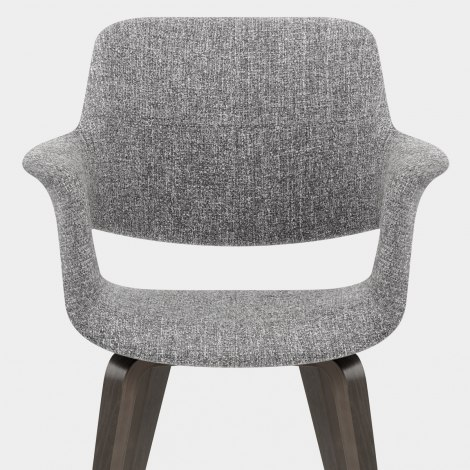 Lloyd Dining Chair Grey Fleck Seat Image