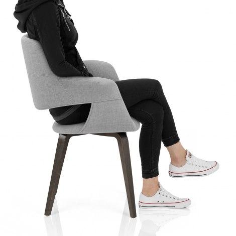 Lloyd Dining Chair Light Grey Seat Image