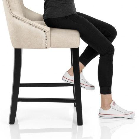 Loxley Stool Cream Seat Image