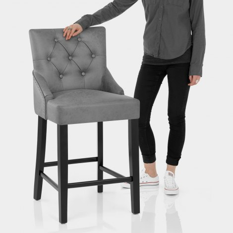 Loxley Stool Grey Features Image