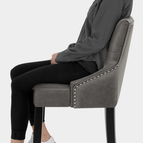 Loxley Stool Grey Seat Image