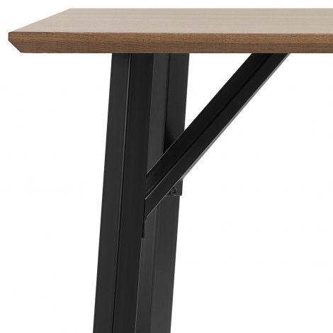 Lucas Dining Table Oak Seat Image