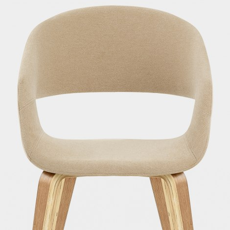 Marcus Dining Chair Beige Seat Image