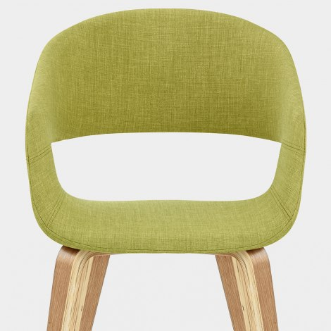 Marcus Dining Chair Green Seat Image