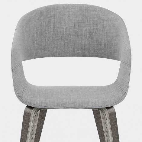 Marcus Dining Chair Light Grey Seat Image