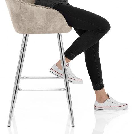 Mason Bar Stool Cream Seat Image